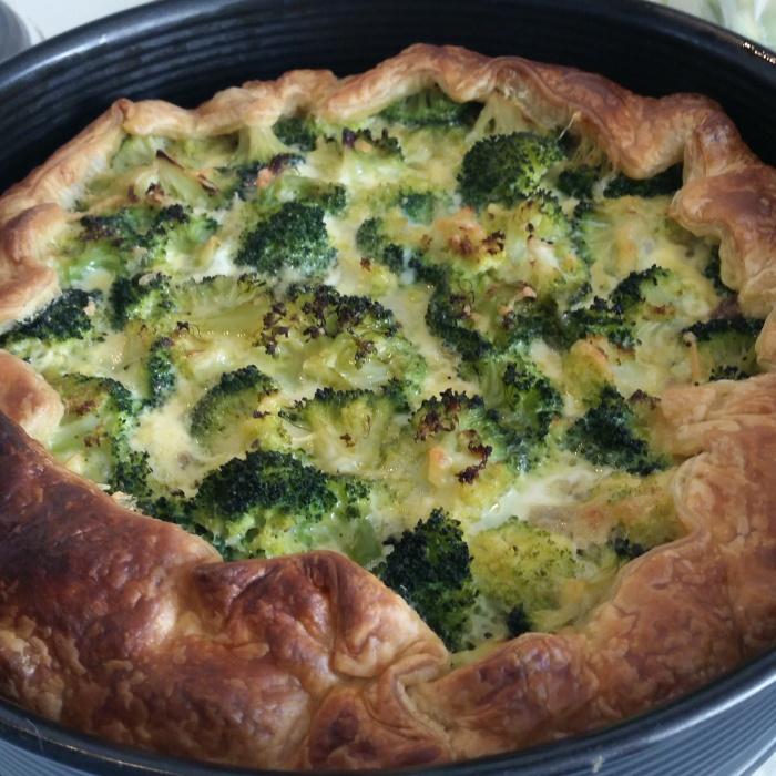 Recept | Broccoli gehakttaart